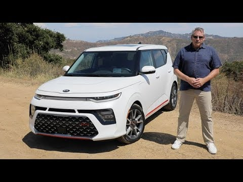 2020 Kia Soul Gt Line Turbo Test Drive Review Youtube
