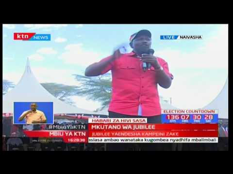 DP William Ruto's full speech during his Jubilee's Naivasha Rally