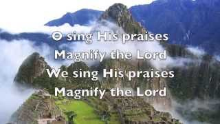 Let Us Exalt His Name   Psalm 34 lyrics