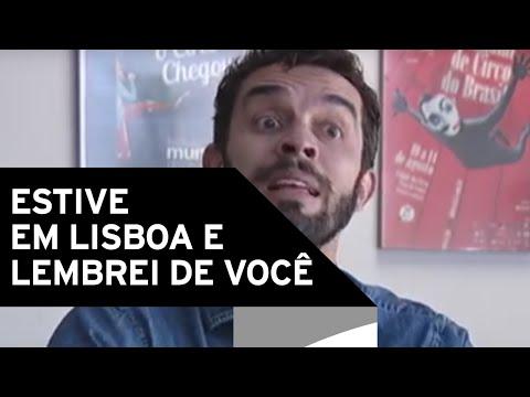 Paulo Azevedo - Estive em Lisboa e Lembrei de Você [AGENDA]