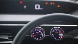 VTECターボ RP3 ステップワゴン  0-100km/h フル加速 ブースト圧