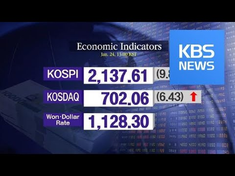 KOSPI 2,137.61 KOSDAQ 702.06 / KBS뉴스(News)