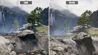 Far Cry 4 PC: Low gegen Ultra - Graphics Comparison