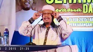 SIHAT Lupa Tuhan,KAYA Lupa Tuhan..Jangan Camni Bro - Ustaz Kazim Elias Latest 2015
