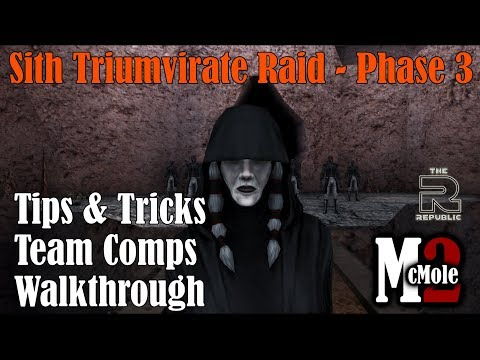 The Only Phase 3 Sith Raid Guide You'll Need