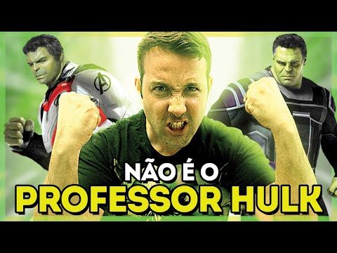 VINGADORES ULTIMATO - As personalidades do HULK
