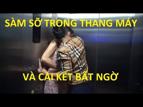 Clip full gã đàn ông cưỡng hôn trong thang máy và cái kết bất ngờ | Thành Xeko - Thu Thủy