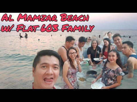 Vlog#14 Al Mamzar Beach Park / Bonding with Housemates / Grace Robles