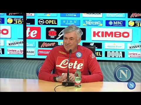 Napoli - Spal, la conferenza stampa di Ancelotti - Ancelotti's press conference