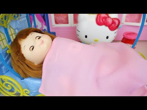 Ba doll pumpkin coach bed toys ba Doli play