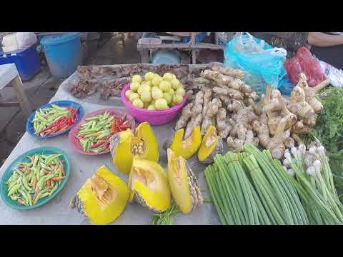 Laos , Local Market - Laos Street Food 2018