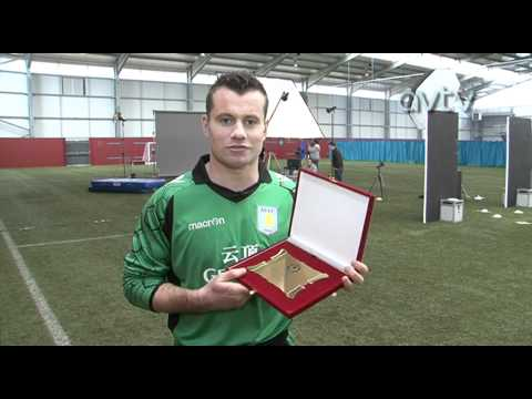Andreas Weimann and Shay Given delighted with Latin Lions awards