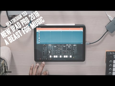 New 2018 iPAd Pro a BEAST for Music Production BD 133 ( korg gadget)