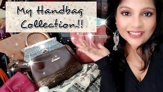 MY HANDBAG COLLECTION 2018 INDIA | MakeupAddict005