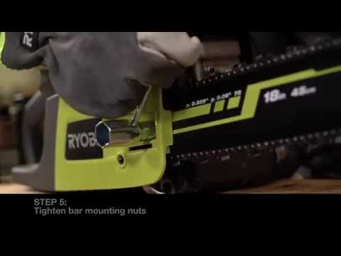 Ryobi australia how to adjust the tooled chainsaw chain youtube ryobi australia how to adjust the tooled chainsaw chain keyboard keysfo Gallery