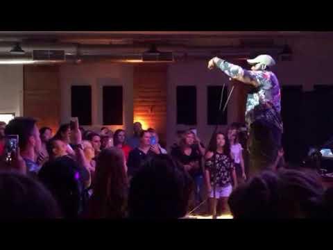 Jonathan Traylor Performing Purpose Over Pleasure In Redding, California