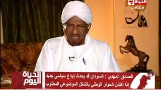 بالفيديو.. رئيس حزب الأمة السوداني يحذر من انتفاضة شعبية في بلاده