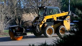 Creep Speed Control Feature on Cat® D Series Skid Steer, Multi Terrain and Compact Track Loaders