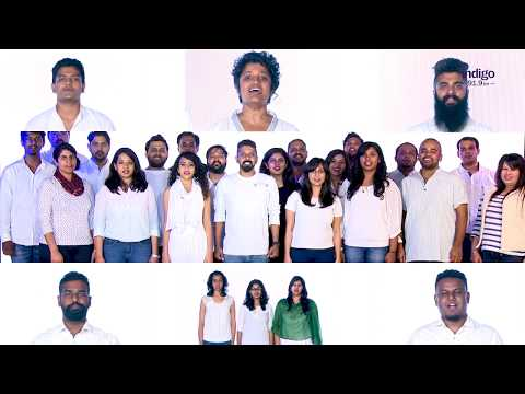 A cappella version of Indian National Anthem for Radio Indigo Bangalore