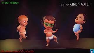 Baile del bebé de la historieta animada de WhatsApp de estado de video Hindi