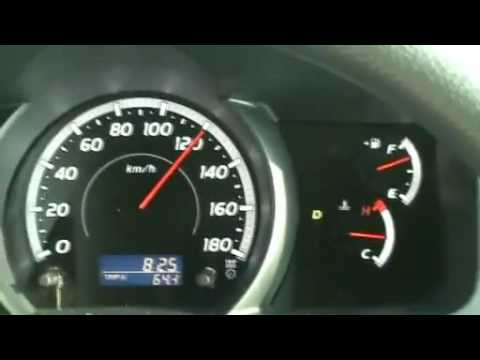 TOYOTA HIACE TOP SPEED