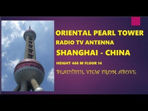 Oriental Pearl Radio TV Tower   Lokasi Tempat Tujuan Destinasi Paket Wisata Shanghai China