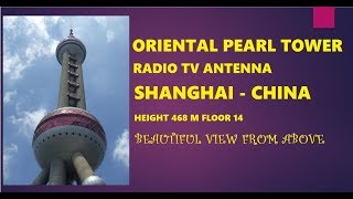 Awesome! Tourist Attraction at Oriental Pearl Radio TV Tower Shanghai | China Tourism Travel Guide