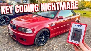 BMW E46 & E39 AK90 Key Programming Attempt EWS3 EWS4