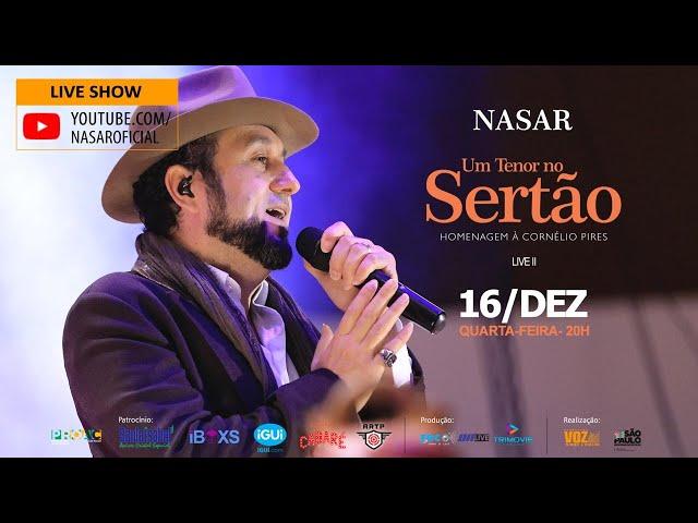 Live Nasar - Um tenor no Sertão - Homenagem à Cornélio Pires