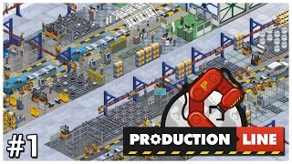 Production Line [Early Access] - #1 - Car Factory Tycoon - Let