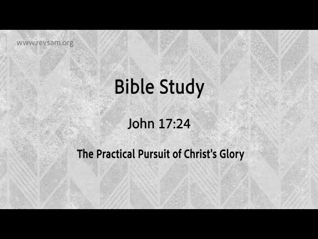 The Practical Pursuit of Christ's Glory | Jeevan Chelladurai | Tuesday Service | AFT Church