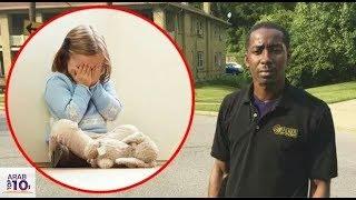 رجل يختطف فتاة صغيرة ولكن تم تصويره... أنظر ماذا حدث!!!