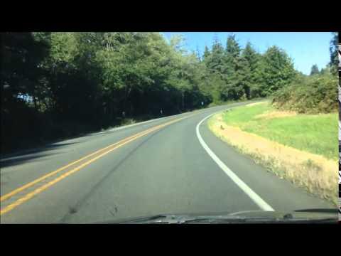 Drive: Pe Ell to Raymond, WA; Frances, Lebam, Holcomb, Menlo; Hwy 6