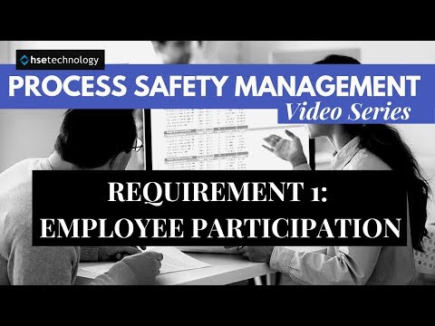 Requirement 1 of PSM - Employee Participation