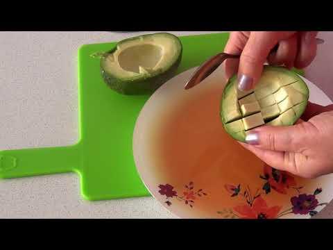 Вопрос: Как очистить авокадо?