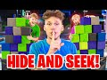 Extreme Hide And Seek In Trampoline Park - Challenge