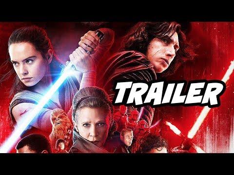 Star Wars The Last Jedi Trailer 2 Breakdown - Rey vs Kylo Ren