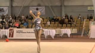 Яна Кудрявцева Baltic Hoop 2016 Riga Ball