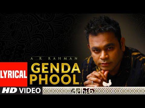 A R Rahman: Genda Phool Lyrical Video  Delhi 6  Abhishek Bachchan, Sonam Kapoor