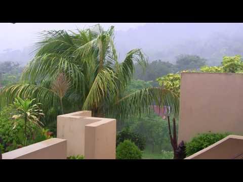 Playa Remanso Rain Storm July 2017