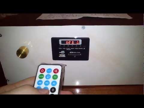 TDA7294 stereo + MP2896 (Встраиваемая микросистема)