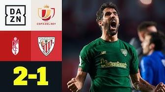 Finaltraum lebt nur kurz! Bilbao trotzt Granada: FC Granada - Bilbao 2:1 | Copa del Rey | DAZN