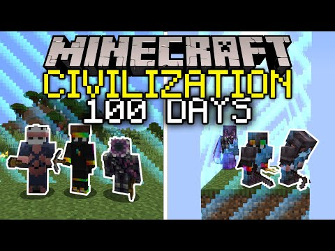 I Let 100 Players Create Civilization But The World Shrinks In 100 Days… Here's What Happened