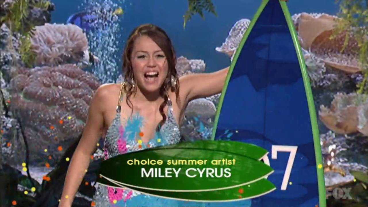 Intelligible message miley cyrus teen choice awards 2007 question