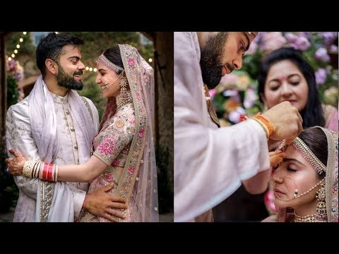 On 1st Wedding Anniversary Anushka Sharma and Virat Kohli shared unseen moments from wedding