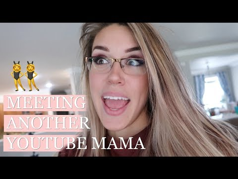 DAY IN THE LIFE OF A STAY AT HOME MOM VLOG | MEETING ANOTHER YOUTUBE MAMA!