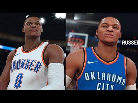 NBA 2K19 Russell Westbrook Screenshot and Rating! Clint Capela