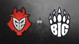 G2 Esports vs. BIG - ESL Pro League Season #6 - Cobblestone