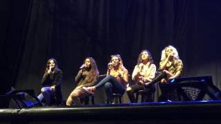 The Life, Fifth Harmony -  Manchester UK Soundcheck,  7/10/2016