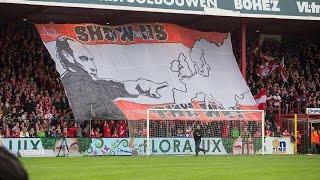 tifo show us the way   kv kortrijk kaa gent 03 05 2015